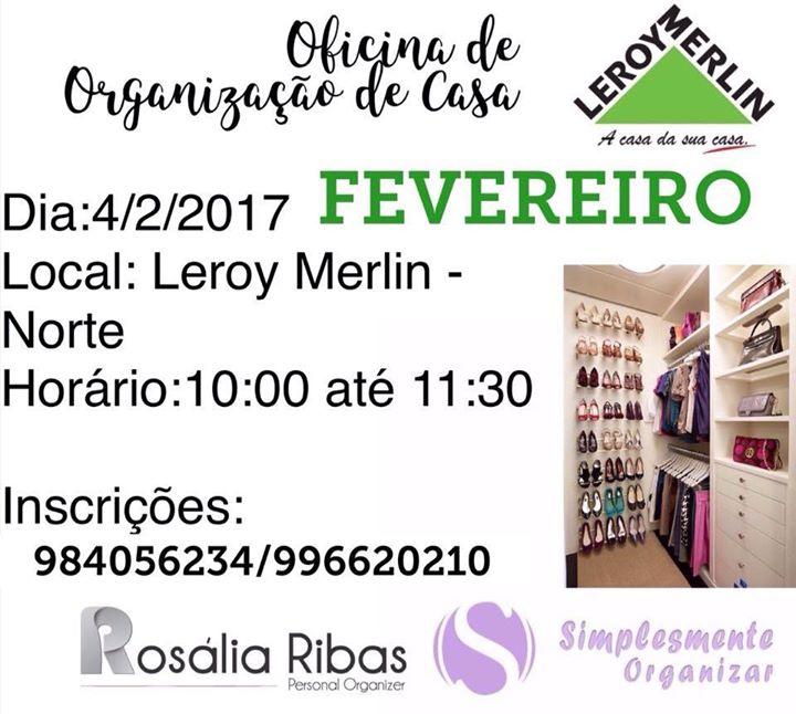 Oficina leroy merlin 04 02 2017 simplesmente organizar for Leroy merlin oficinas
